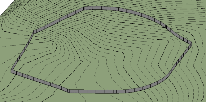 How to Make (Non-Adaptive) Fences Follow Topo - Revit news