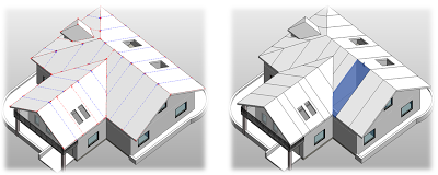 Prefabricated roof panelling software for revit revit news for Roof drawing software
