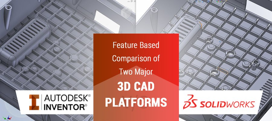 SolidWorks Vs Inventor: Feature Based Comparison of Two