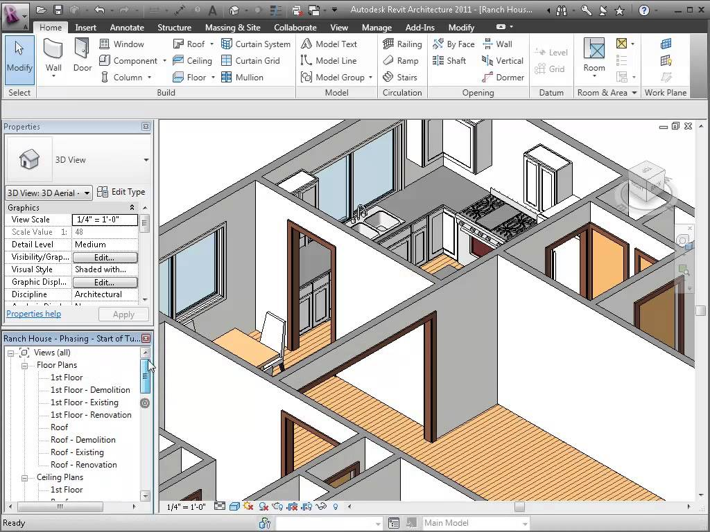 How to Learn Revit Structure Software Full Video Tutorials