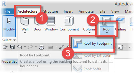 Revit Architecture Roof By Footprint Revit News