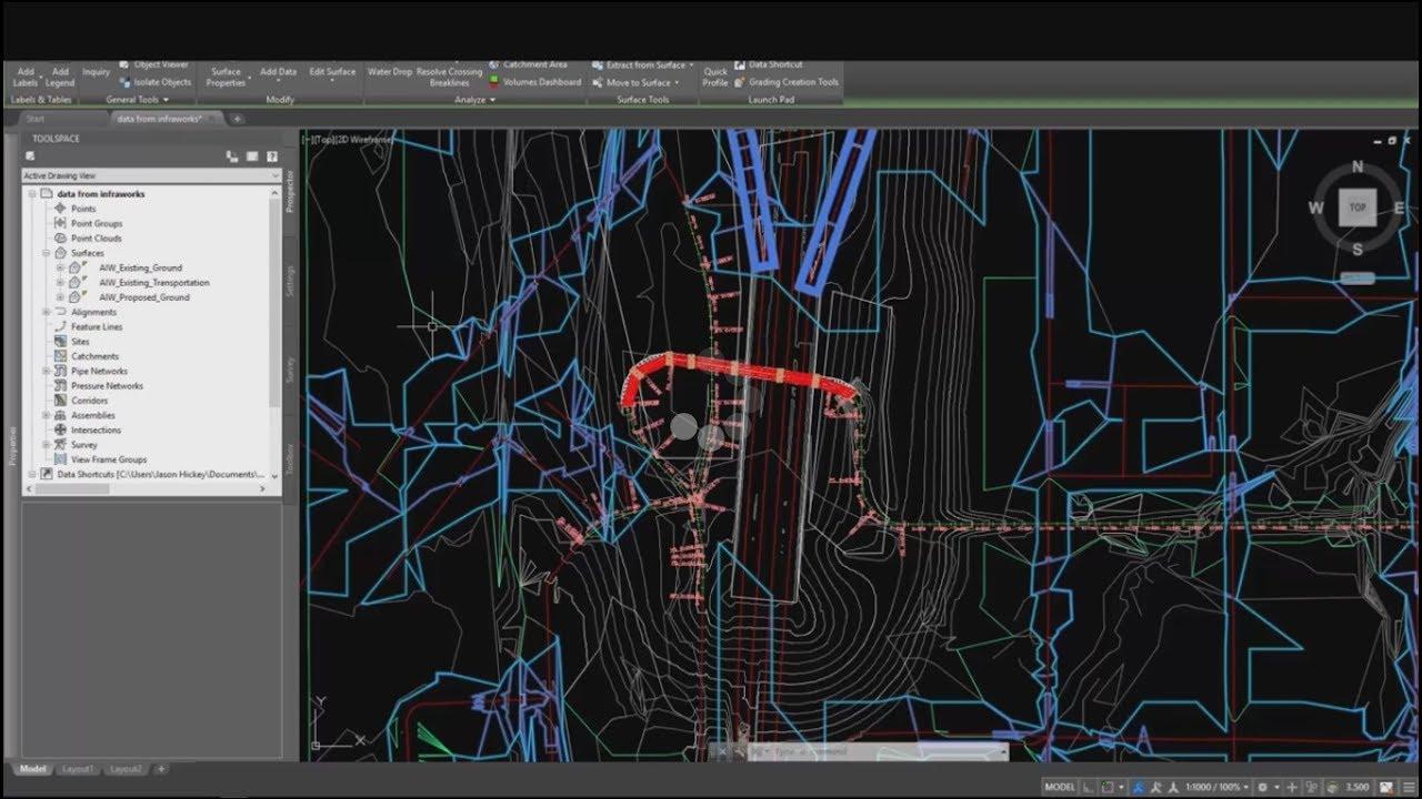 AutoCAD Civil 3D Road Design Tutorial - 1 - Revit news