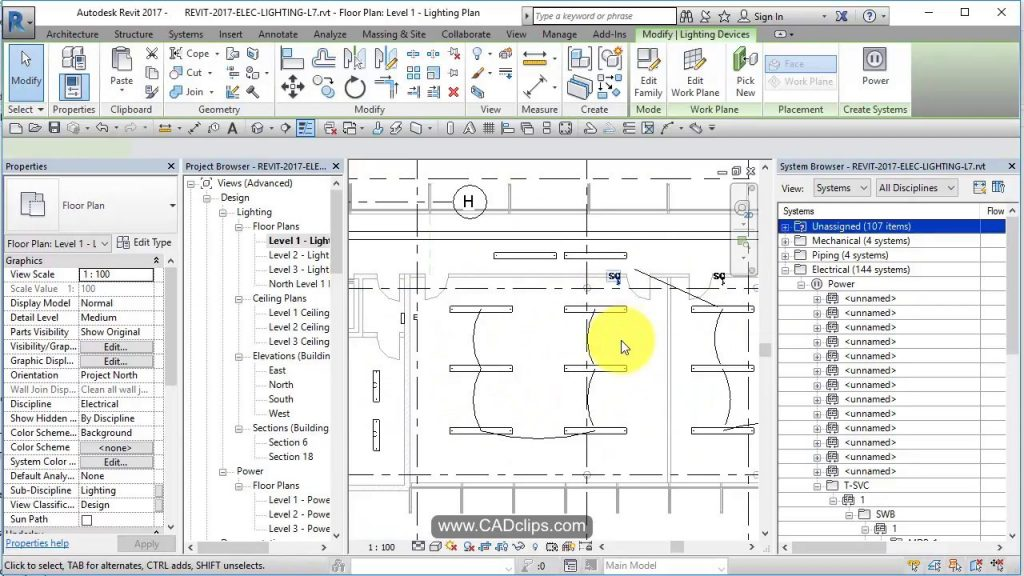 REVIT LIGHTING PROJECT 07 SWITCHES AND SYSTEMS - Revit news