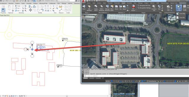 how to change coordinates in revit