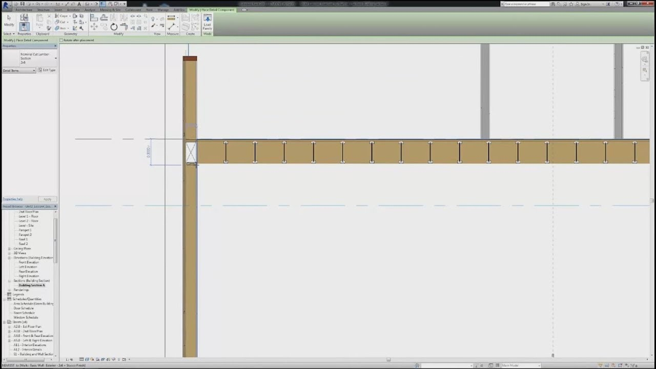 News Detail: How To Create Section View In Revit With All Details