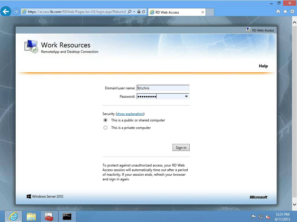 What's New in Windows Server 2012, Episode 20: RDS - Remote
