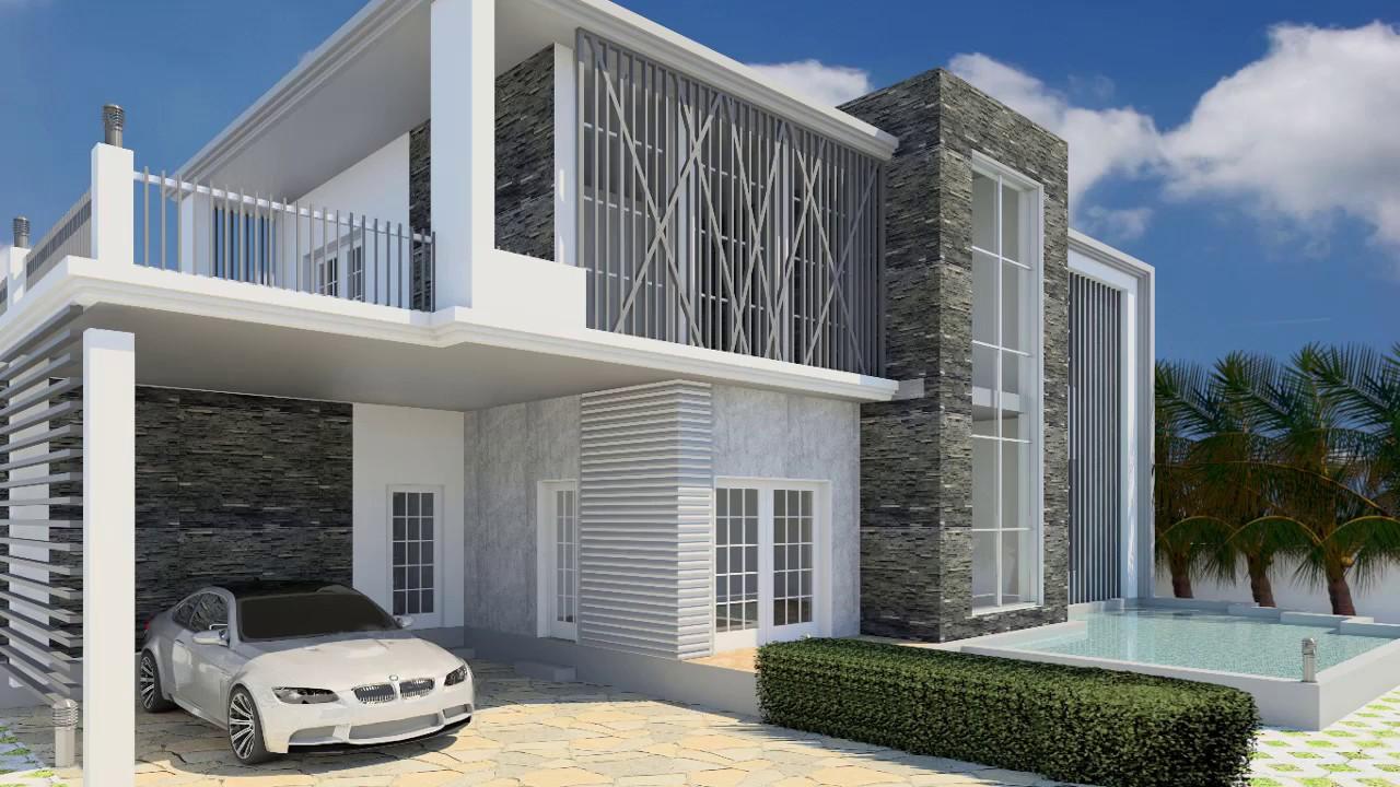 Revit Architecture| Modern House Design #8 - Revit news