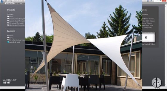 How to use Revit for creating model of a Parametric Tensile