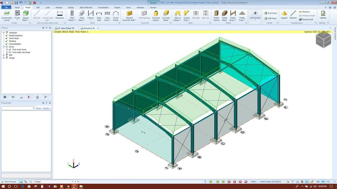 Tekla structural Designer 2018 Tutorial pdf Java