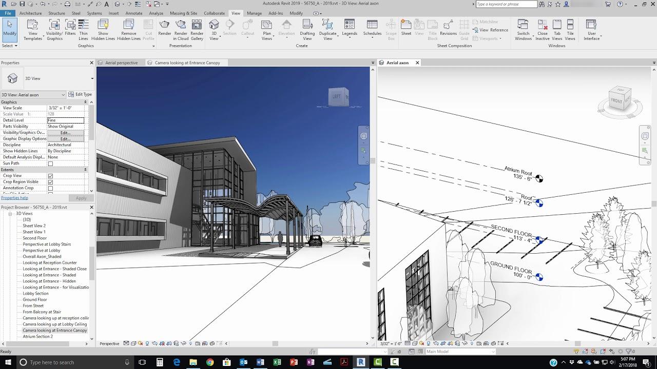 3D Ontwerp in AutoDesk Revit