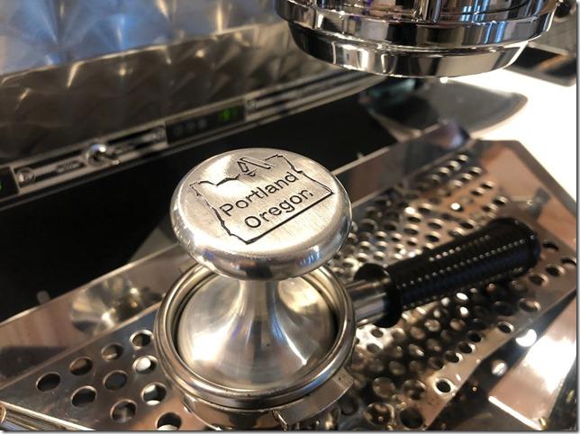 The new Portland Espresso Tamper