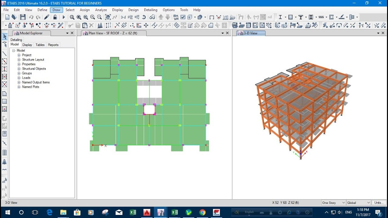 ETABS FULL COURSE FOR BEGINNERS-PART 5a - Revit news