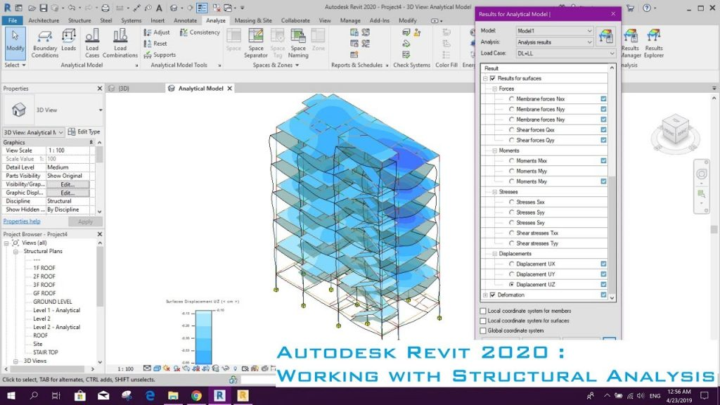 Autodesk Revit 2020 : Working with Structural Analysis