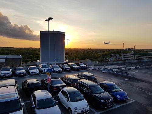 Landing in Heathrow