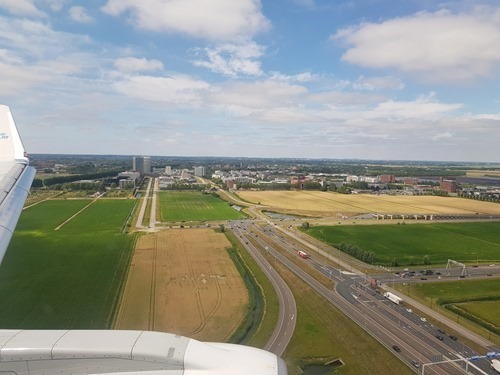 Arriving in the Netherlands