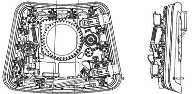 Egress Hatch Fusion 360-tekening