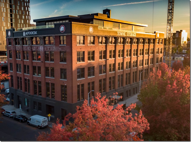 Autodesk Portland Fall Colors 2018
