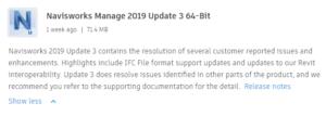 Navisworks 2019 Update 3 64-Bit Enlaces de descarga directa
