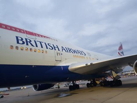 BA275 to Las Vegas