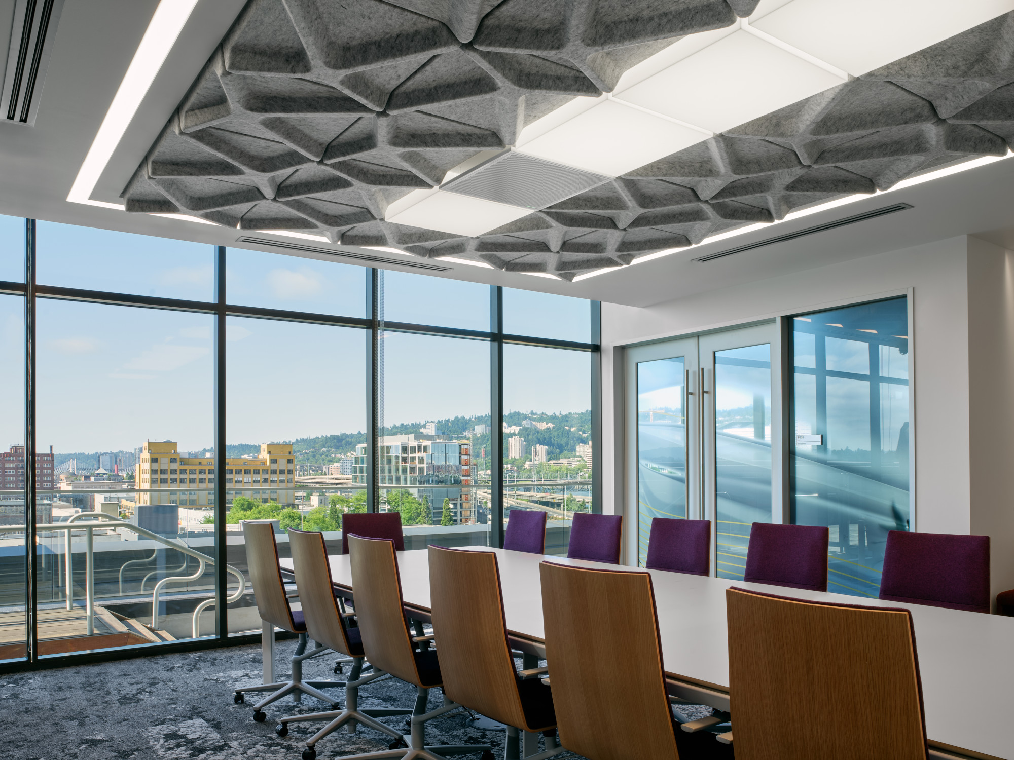 Office interior at Autodesk Portland