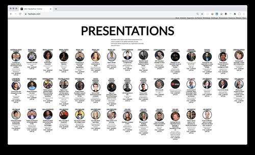 AEC Hackathon presentations