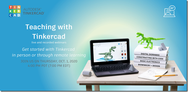 Teaching with Tinkercad
