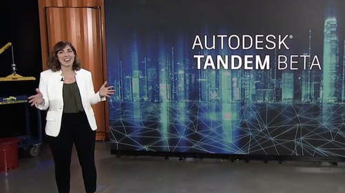 Vanessa telling more about Autodesk Tandem