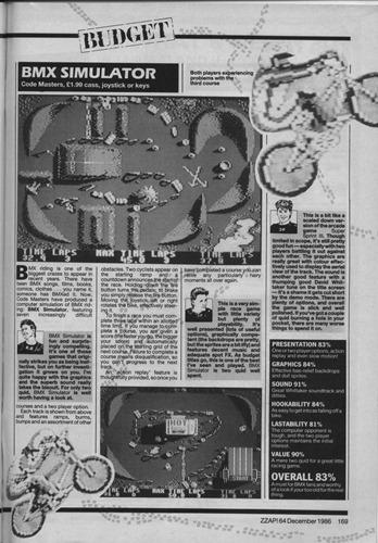 BMX Simulator review