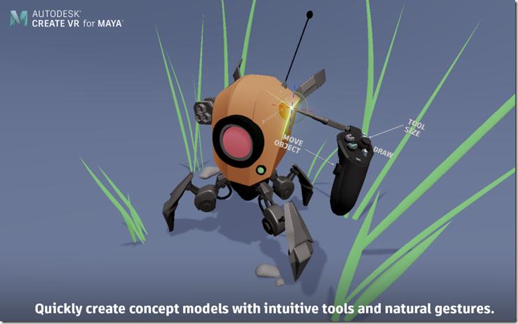 Create VR for Maya