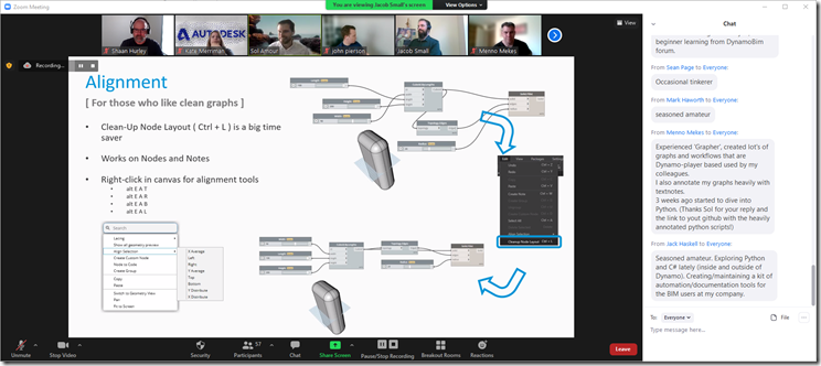 Autodesk Community Conversations - Dynamo Graph Annotations with Jacob Small an Sol Amour
