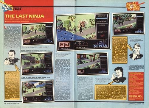 The Last Ninja review