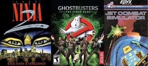 Last Ninja 2, Ghostbusters, Fighter Pilot