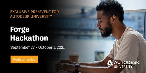 Forge Hackathon at AU2021