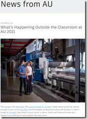 Outside the Classroom at AU 2021