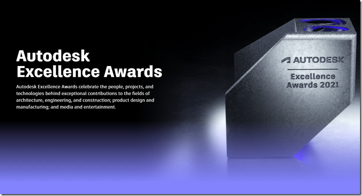 2021 Autodesk Excellence Awards