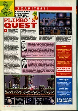 Flimbo's Quest review